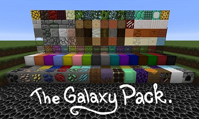 The Galaxy Pack [1.13] [1.12.2] [1.11.2] [1.10.2] (64x)