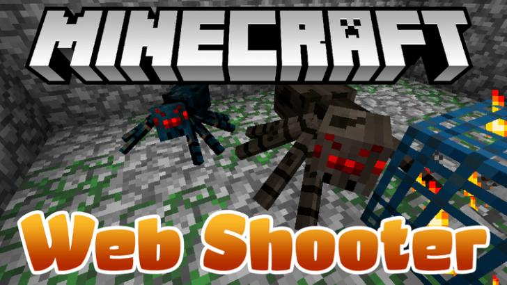 WebShooter [1.12] [1.11.2] [1.10.2] [1.7.10]
