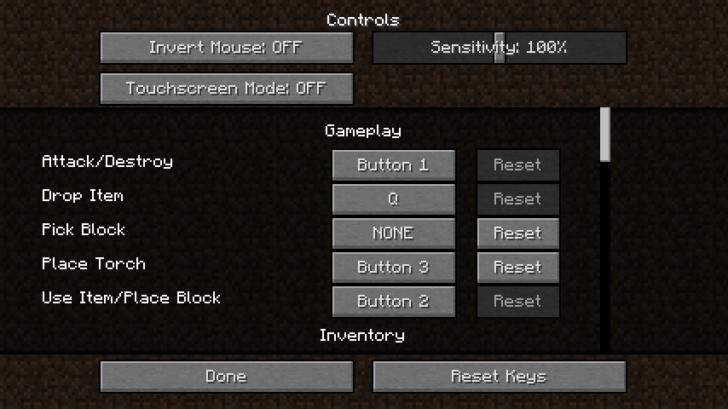 The Middle Torch - отдельная кнопка для факела [1.12.2] [1.11.2] [1.10.2] [1.7.10]