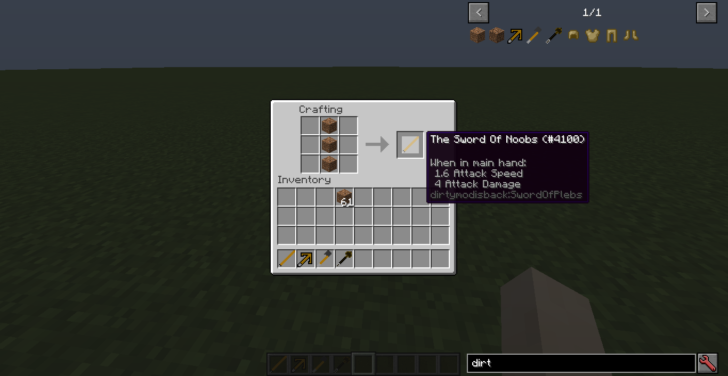 The Dirt [1.10.2]