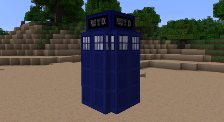 The Doctor Whovian [1.10.2] [1.9.4] [1.8.9] (x32)