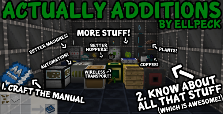 Actually Additions [1.10.2] [1.9.4] [1.8.9] [1.7.10]