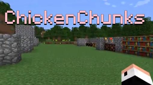 моды на майнкрафт 1 12 2 chickenchunks