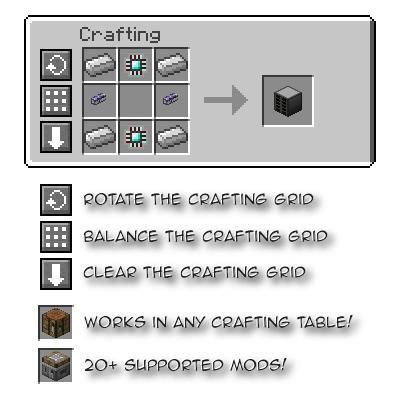 Crafting Tweaks [1.12] [1.11.2] [1.10.2] [1.7.10]