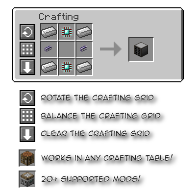 Crafting Tweaks [1.12] [1.11.2] [1.10.2] [1.7.10]