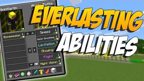 Everlasting Abilities - способности [1.12.2] [1.11.2] [1.10.2] [1.9.4]