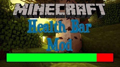 Health Bar [1.12.2] [1.11.2] [1.10.2] [1.7.10]