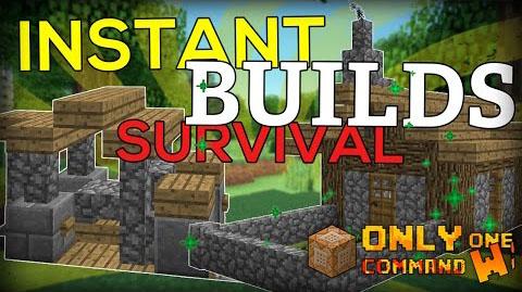 Instant Survival Buildings [1.10.2] [1.9.4]