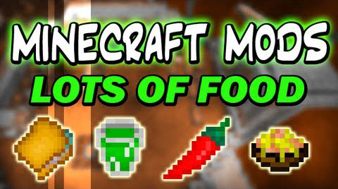 Lots of Food [1.10.2] [1.9.4] [1.8.9] [1.7.10]