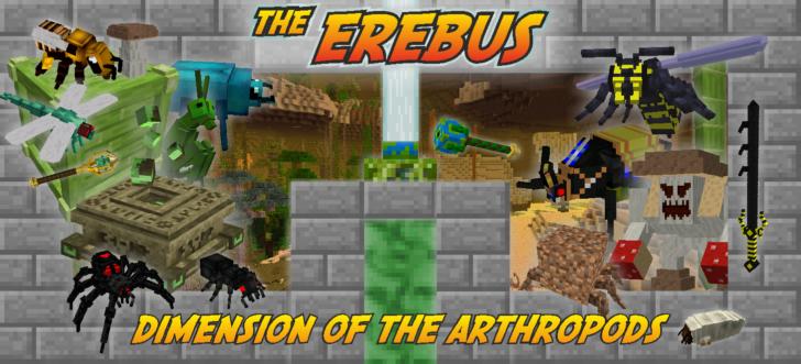 The Erebus - новое измерение и мобы [1.12.2] [1.7.10]