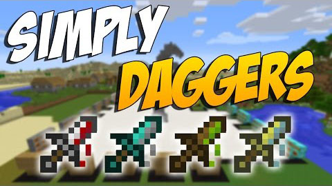 Simply Daggers [1.7.10]