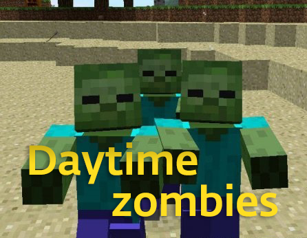Daytime zombies [1.10.2]