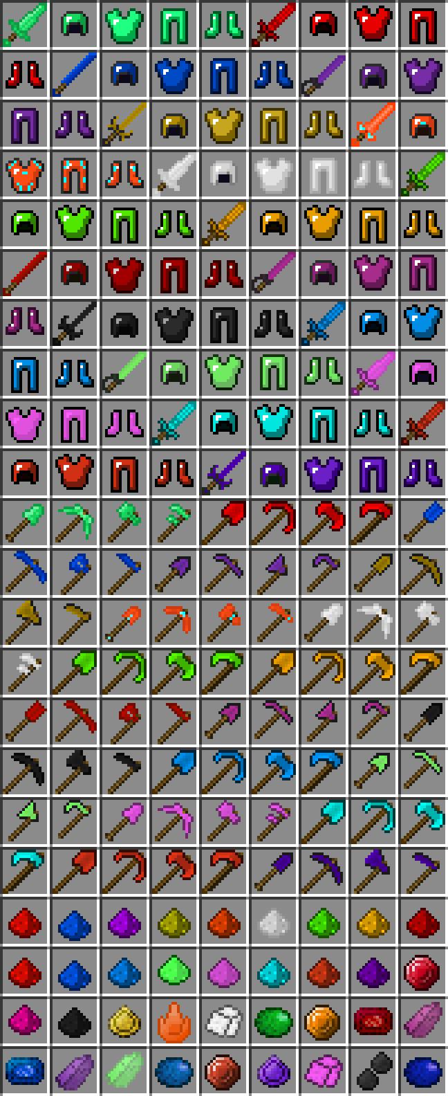 Gems+ [1.10.2] [1.9.4] [1.8.9] [1.7.10]