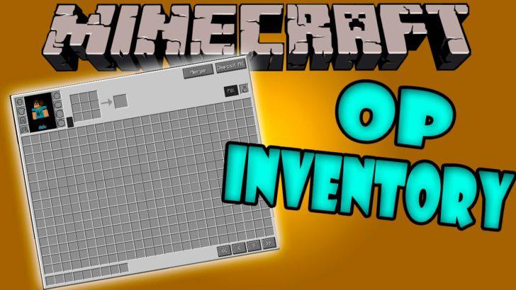 Overpowered Inventory [1.11.2] [1.10.2] [1.8.9] [1.7.10] (читерский инвентарь)