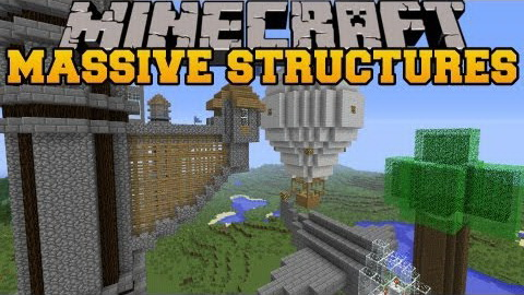 Instant Massive Structures [1.10.2] [1.9] [1.8] [1.7.10]