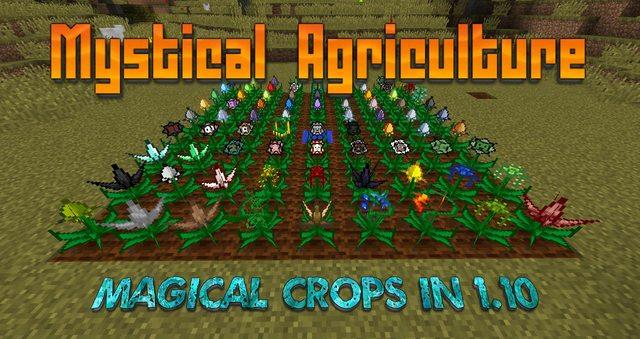 Mystical Agriculture - магическое фермерство [1.12] [1.11.2] [1.10.2]
