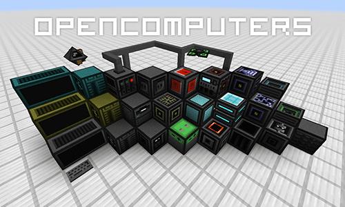 Open Computers [1.12.2] [1.11.2] [1.10.2] [1.7.10] (компьютеры, роботы)