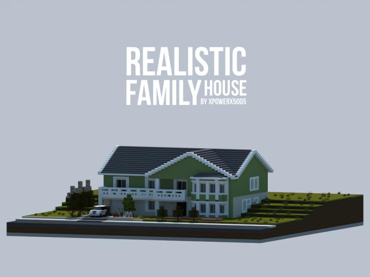 Реалистичный Семейный дом [1.10.2] [1.9.4]