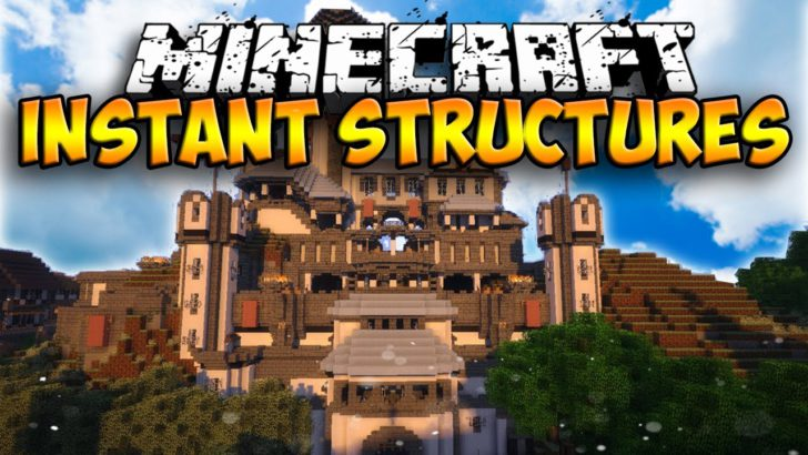 Instant Structures [1.10.2] [1.9.4] [1.8.9] [1.7.10]