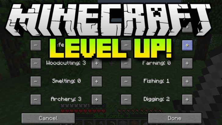 Level Up [1.12.2] [1.11.2] [1.10.2] [1.7.10]