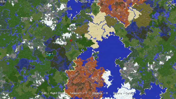 Xaero's World Map [1.12.2] [1.11.2] [1.10.2] [1.9.4]