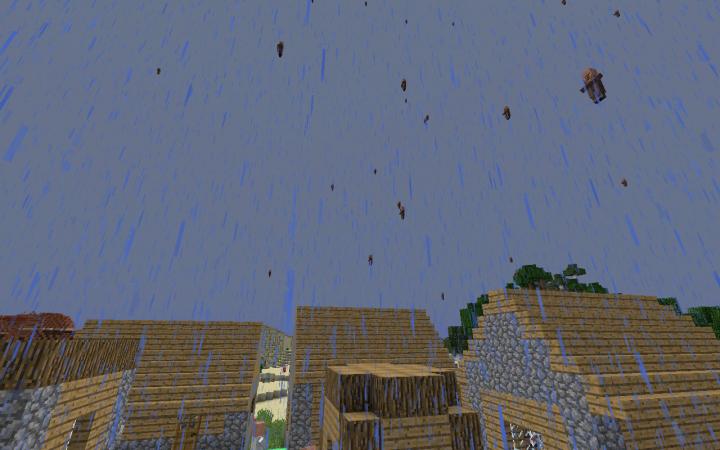 Villager Rain [1.10.2] [1.9.4]