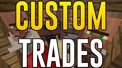 Custom Trades - настройка торговли у жителей [1.12.2] [1.11.2] [1.10.2] [1.7.10]
