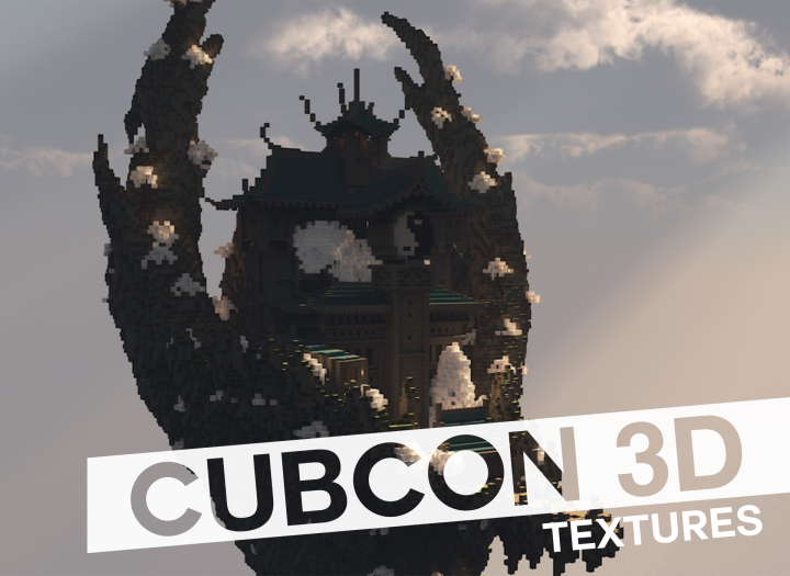 CubCon (3D текстуры) [1.10.2] [1.9.4] [1.8.9]
