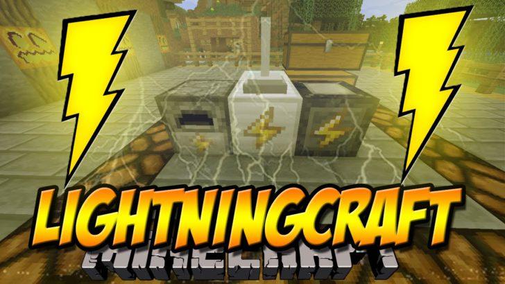 LightningCraft - энергия из молнии [1.12.2] [1.11.2] [1.10.2] [1.9.4]