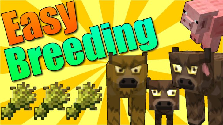 Easy Breeding [1.11.2] [1.10.2] [1.9.4] [1.7.10]