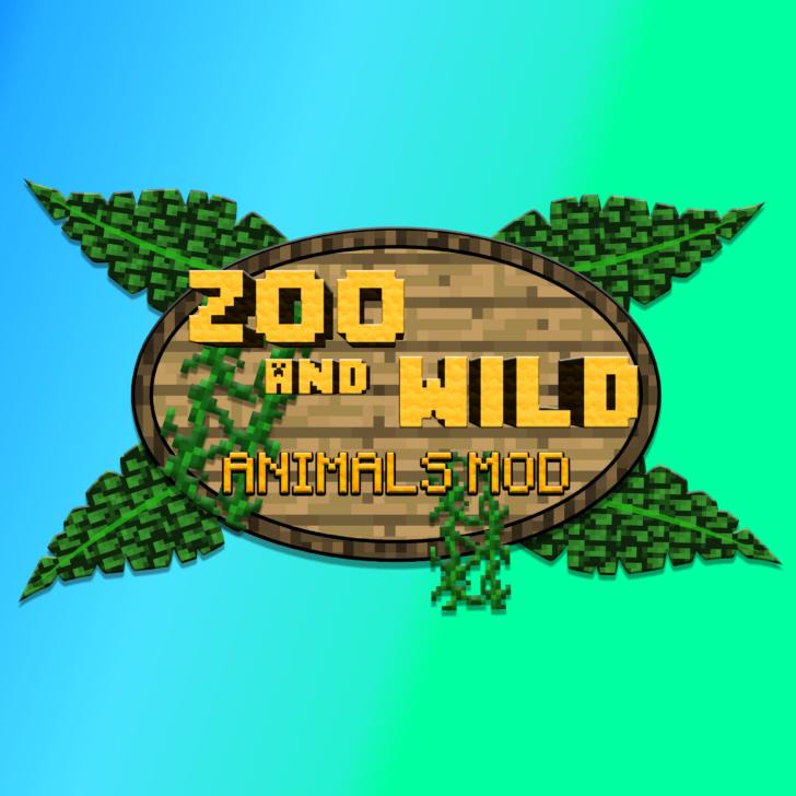 Zoo & Wild Animals Rebuilt - 30 новых видов животных [1.12.2] [1.8]