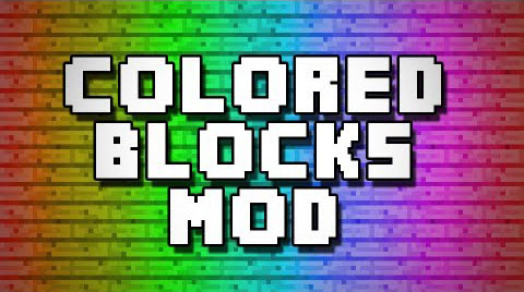 Flat Colored Blocks [1.12] [1.11.2] [1.10.2] [1.8.9]