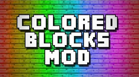 Flat Colored Blocks [1.12.2] [1.11.2] [1.10.2] [1.8.9]