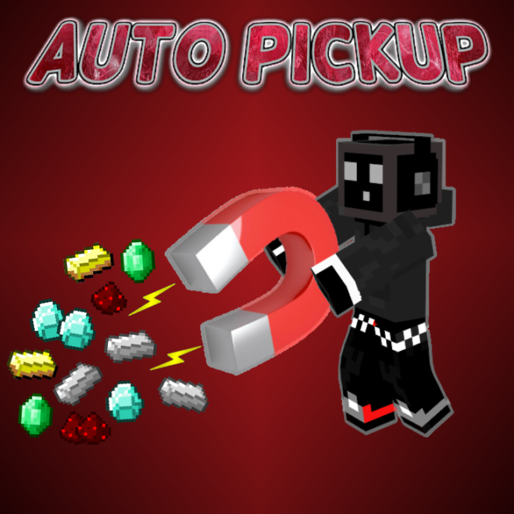 Auto Pickup - авто подбор только нужных предметов [1.12.2] [1.11.2] [1.10.2] [1.7.10]