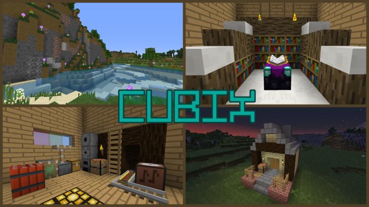 Cubix [1.14.4] [1.13.2] [1.12.2 - 1.10.2] (16x)