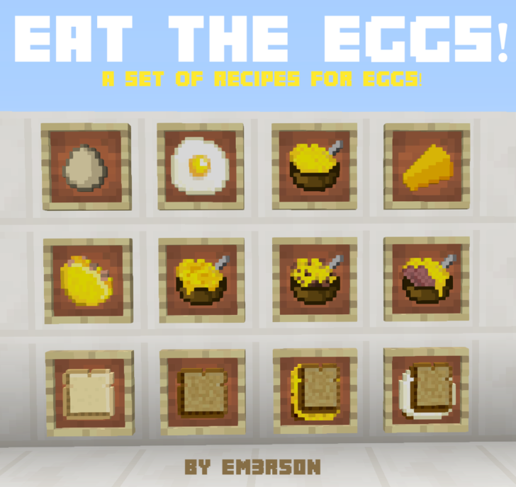 Eat the Eggs [1.12] [1.11.2] [1.10.2] [1.9]