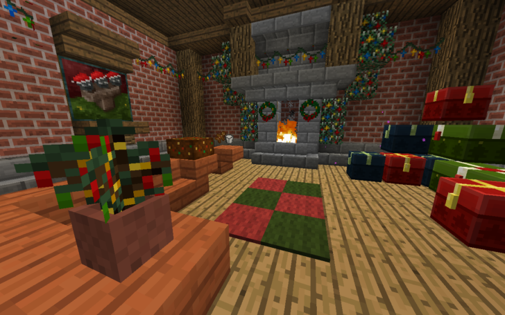 Default-Style Christmas Pack [1.11] [1.10.2] [1.9.4] (16x)