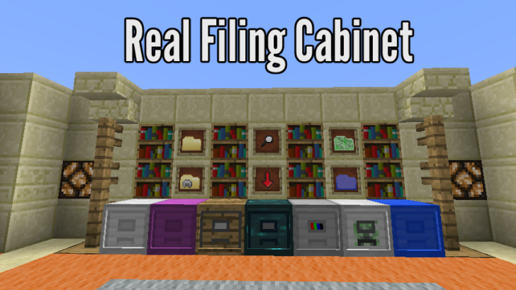 Real Filing Cabinet [1.11.2] [1.10.2]