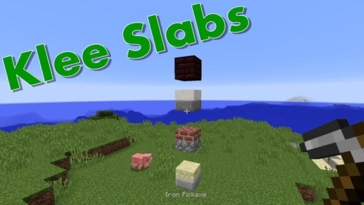 KleeSlabs [1.12.2] [1.11.2] [1.10.2] [1.7.10]