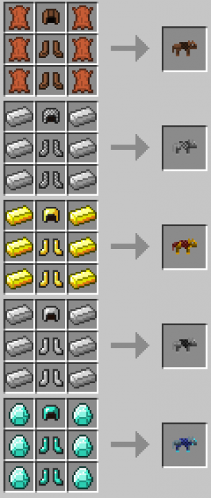 Wolf Armor and Storage [1.11] [1.10.2] [1.7.10]