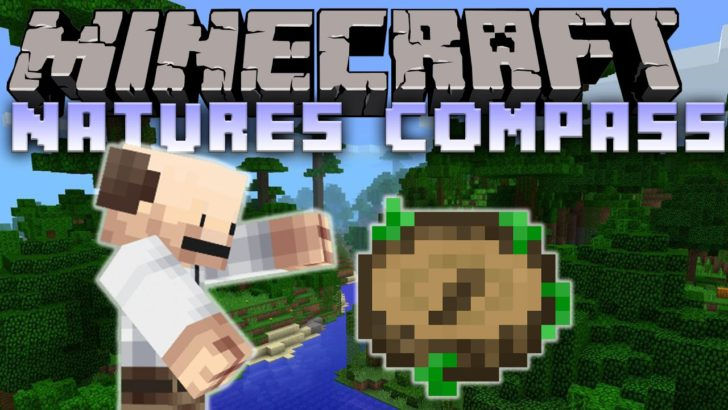 Nature's Compass [1.12] [1.11.2] [1.10.2] [1.7.10]