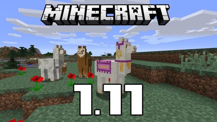 Скачать Minecraft 1.11