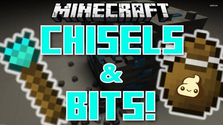 Chisels and Bits - инструменты для строительства [1.12.2] [1.11.2] [1.10.2] [1.9.4]