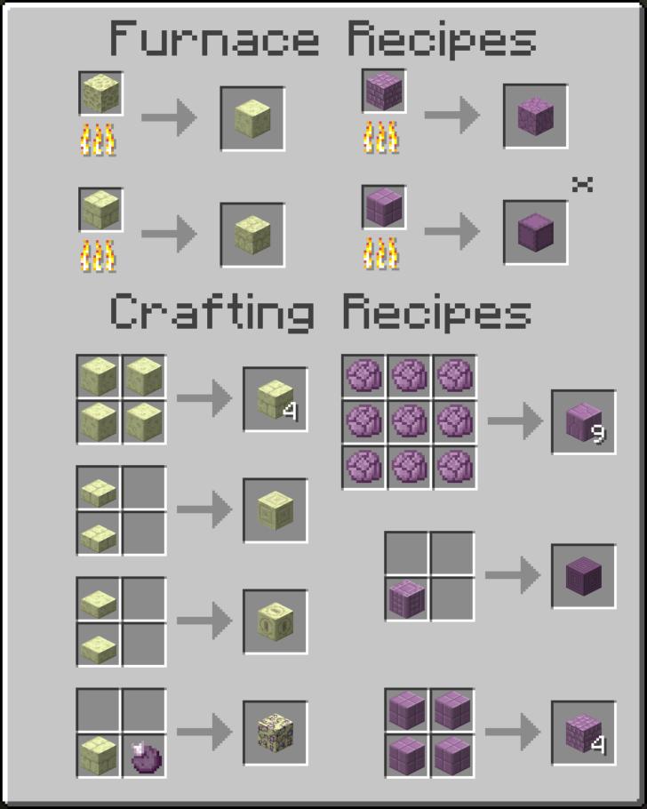 Additional Ender Blocks [1.11.2] [1.10.2]