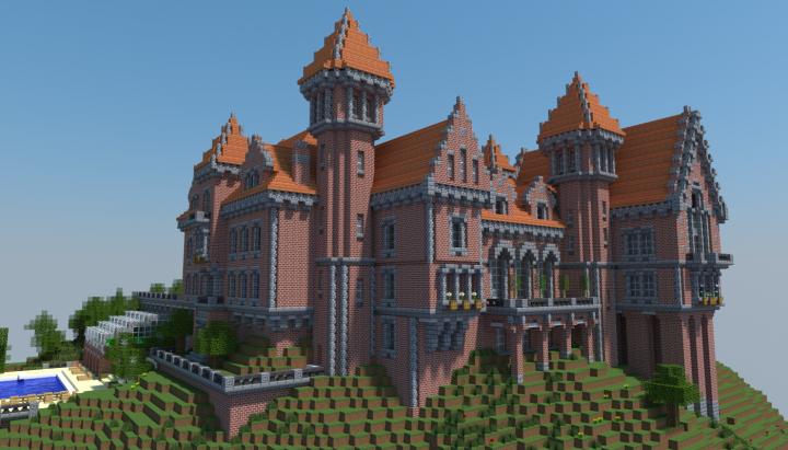 Красный замок [1.11.2] [1.10.2] [1.9.4]