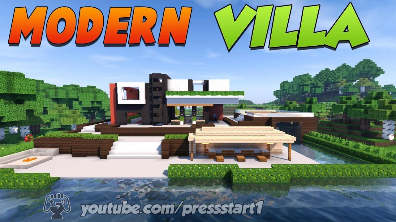 Скачать карту Крутая вилла для Minecraft 1.4.7