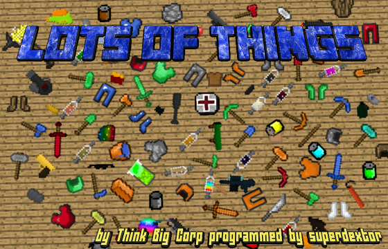 Lots of Things [1.11.2] [1.10.2] [1.9.4] [1.7.10]