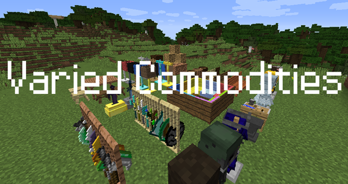 Varied Commodities [1.12.2] [1.11.2] (декор, оружие и броня)