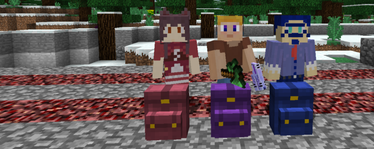 Wearable Backpacks [1.12.2] [1.11.2] [1.10.2]