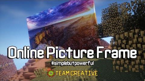 OnlinePictureFrame [1.12.2 - 1.10.2] [1.7.10] (свои картины)